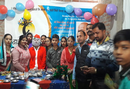 Christmas Day Celebration with Nayi Kiran Students held on 25-Dec-2018